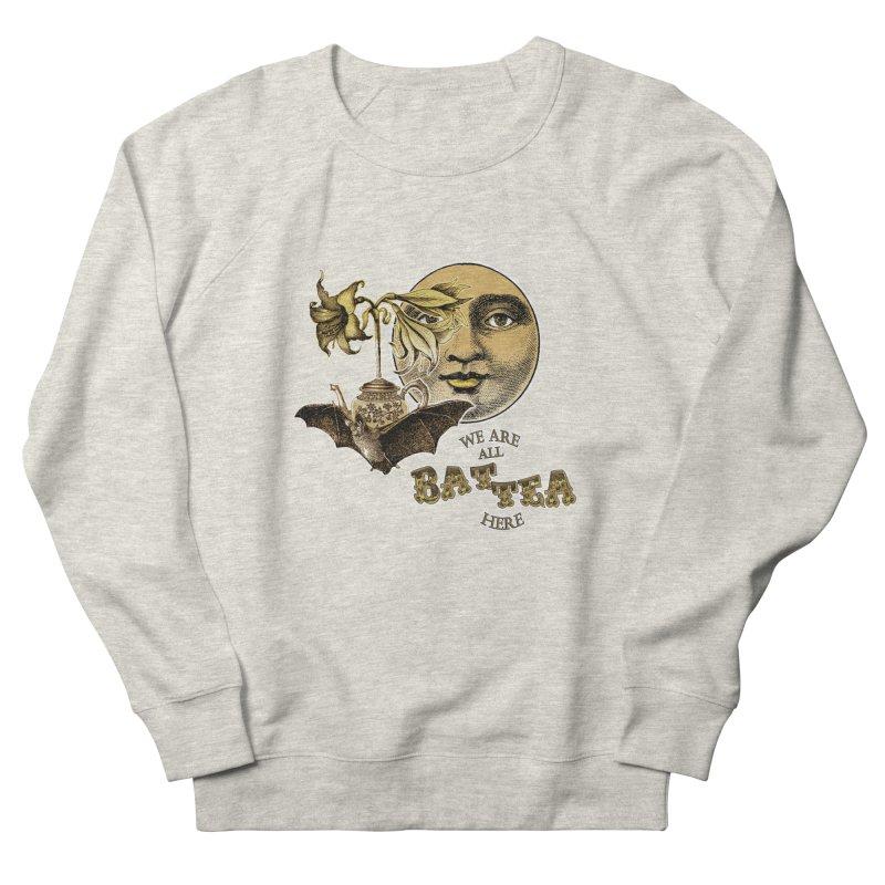 The Tea Bats Lily Bat Design Women's Sweatshirt by theatticshoppe's Artist Shop