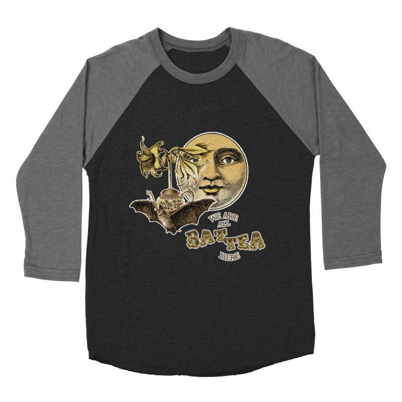The Tea Bats Lily Bat Design Women's Baseball Triblend Longsleeve T-Shirt by theatticshoppe's Artist Shop