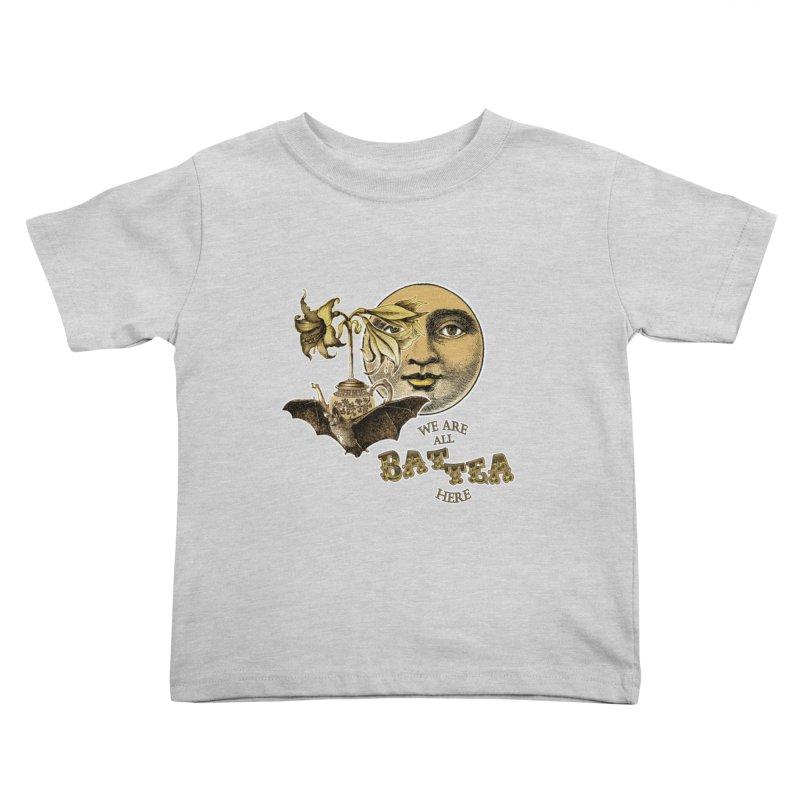 The Tea Bats Lily Bat Design Kids Toddler T-Shirt by theatticshoppe's Artist Shop