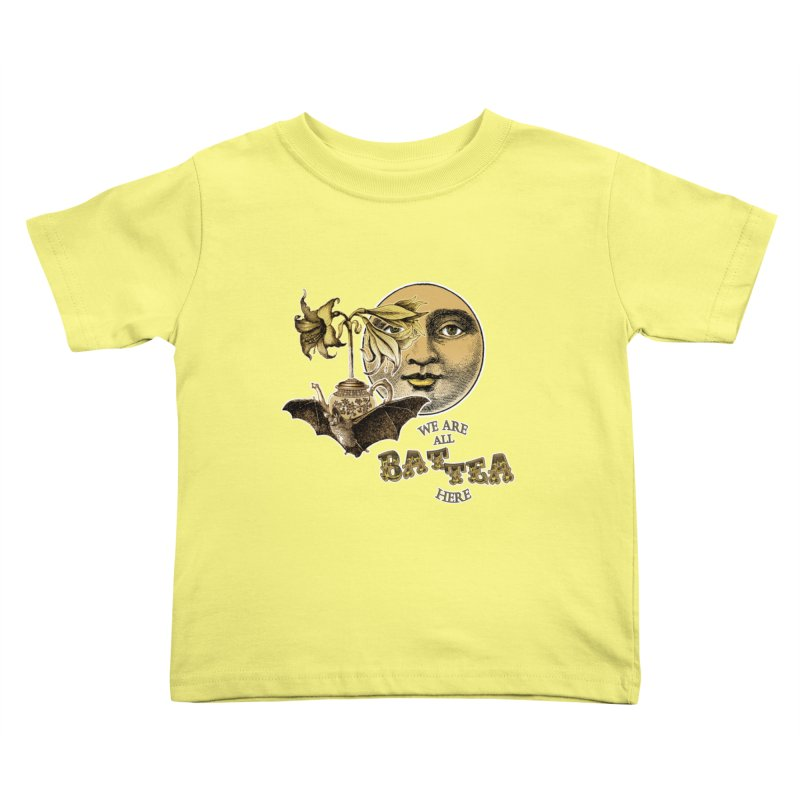 The Tea Bats Lily Bat Design Kids Toddler T-Shirt by theatticshoppe's Artist Shop