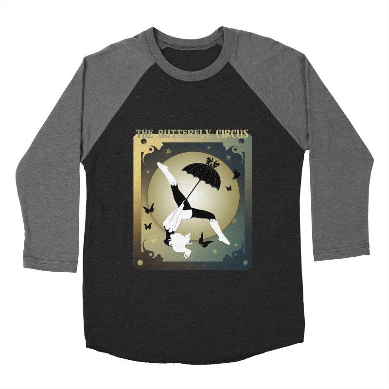 The Butterfly Circus Over the Moon Design Women's Baseball Triblend Longsleeve T-Shirt by theatticshoppe's Artist Shop