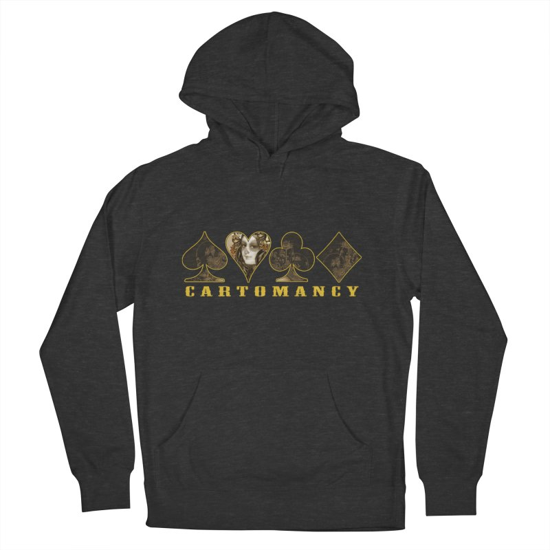 Cartomancy Women's French Terry Pullover Hoody by theatticshoppe's Artist Shop