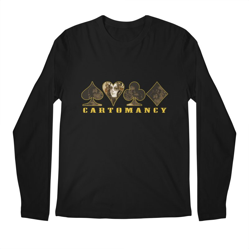 Cartomancy Men's Regular Longsleeve T-Shirt by theatticshoppe's Artist Shop