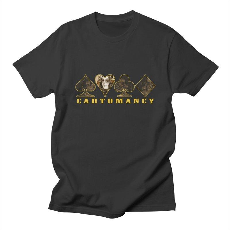 Cartomancy Men's Regular T-Shirt by theatticshoppe's Artist Shop