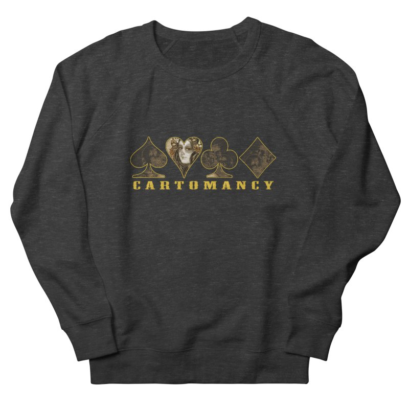 Cartomancy Women's French Terry Sweatshirt by theatticshoppe's Artist Shop