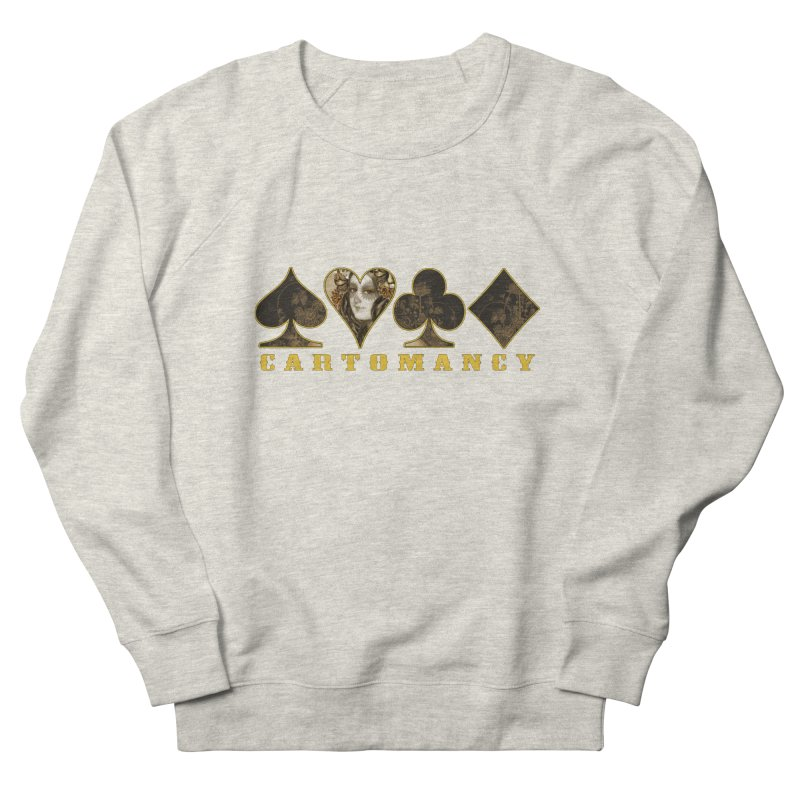 Cartomancy Men's French Terry Sweatshirt by theatticshoppe's Artist Shop