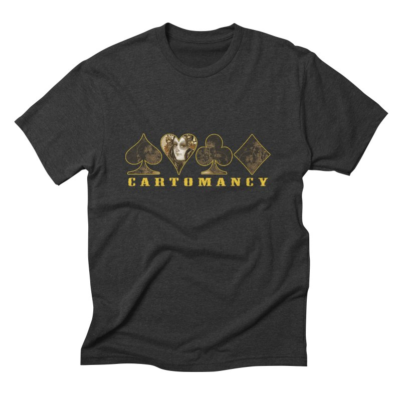 Cartomancy Men's Triblend T-Shirt by theatticshoppe's Artist Shop
