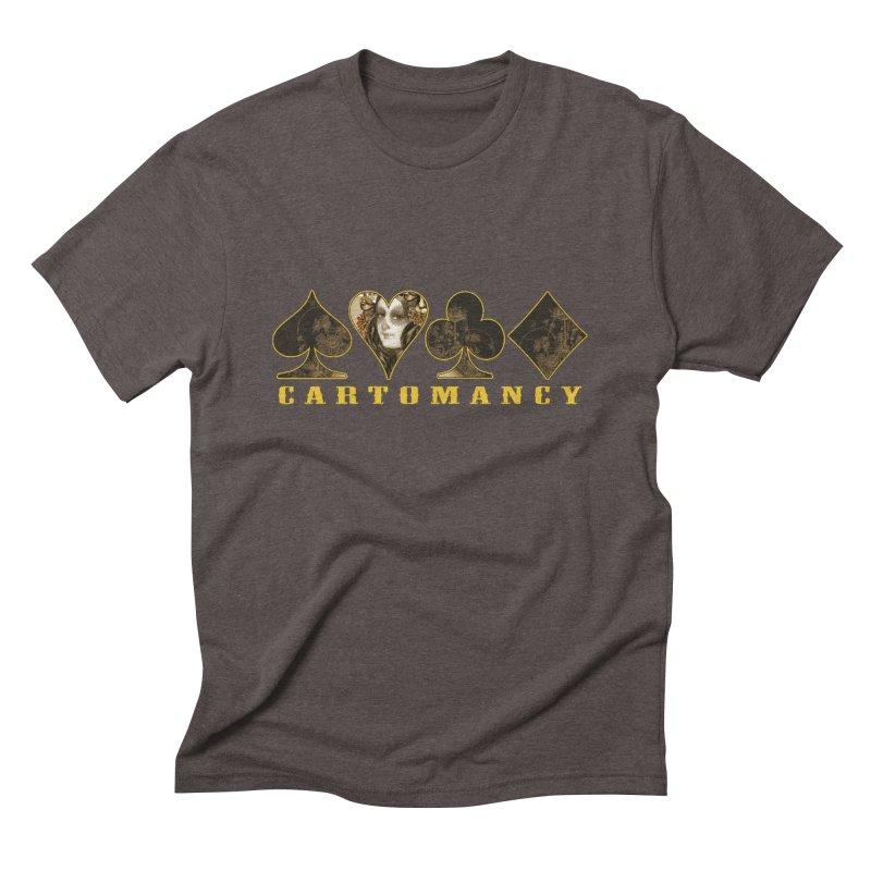 Cartomancy Men's Triblend T-Shirt by theatticshoppe's Artist Shop