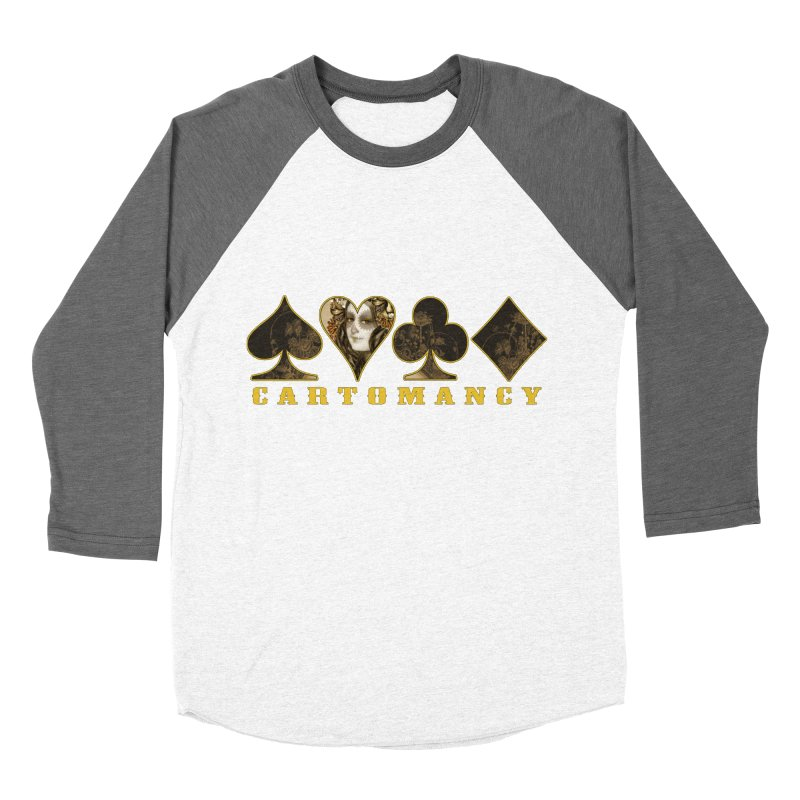 Cartomancy Women's Baseball Triblend Longsleeve T-Shirt by theatticshoppe's Artist Shop