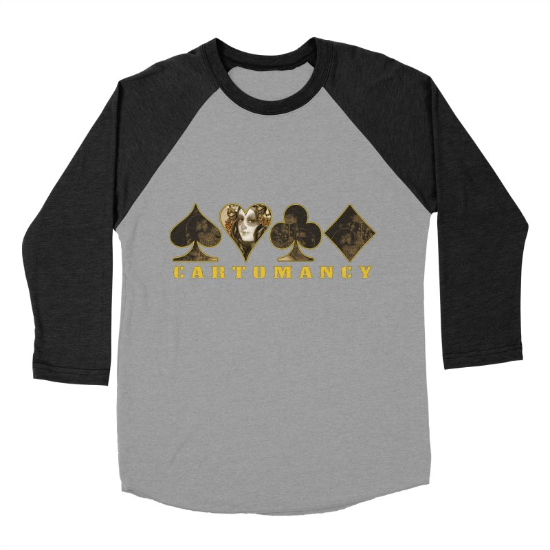 Cartomancy Men's Baseball Triblend Longsleeve T-Shirt by theatticshoppe's Artist Shop