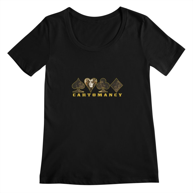 Cartomancy Women's Scoopneck by theatticshoppe's Artist Shop