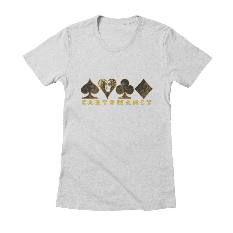 Cartomancy Women's Fitted T-Shirt by theatticshoppe's Artist Shop