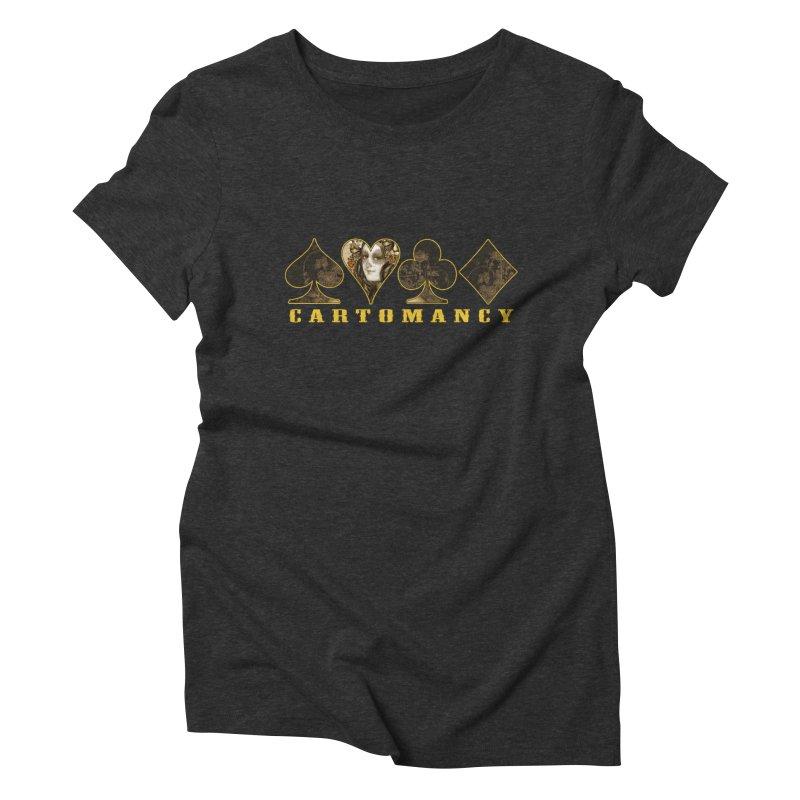 Cartomancy Women's Triblend T-shirt by theatticshoppe's Artist Shop