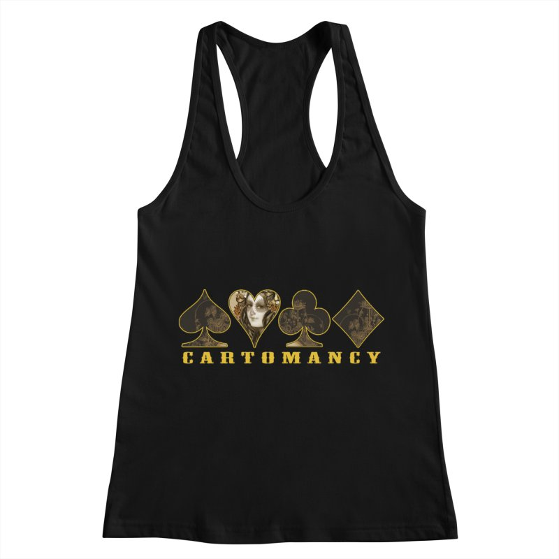 Cartomancy Women's Racerback Tank by theatticshoppe's Artist Shop