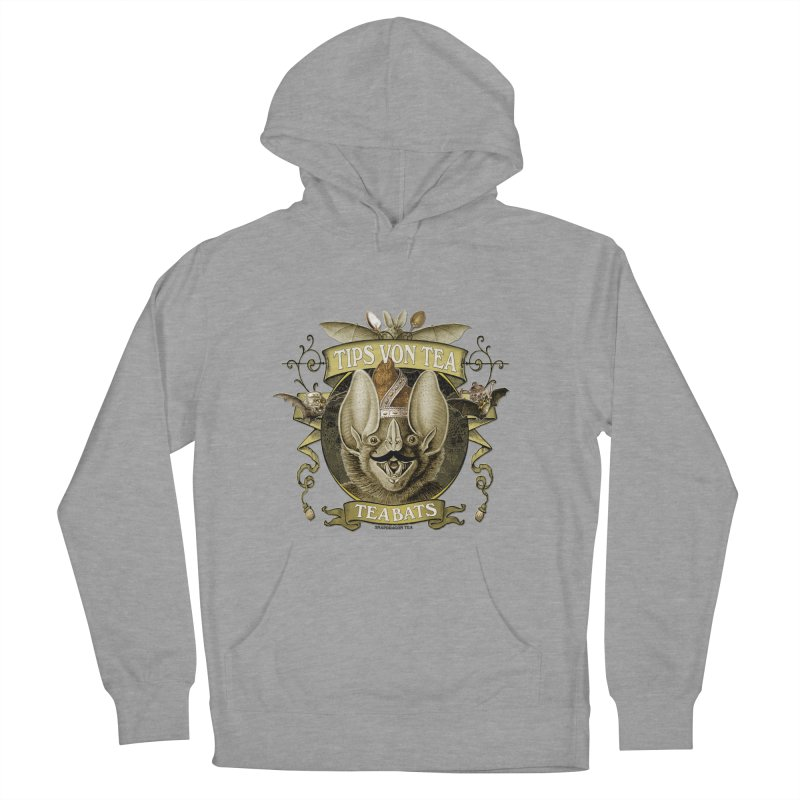 The Tea Bats Tips Von Tea Men's French Terry Pullover Hoody by theatticshoppe's Artist Shop