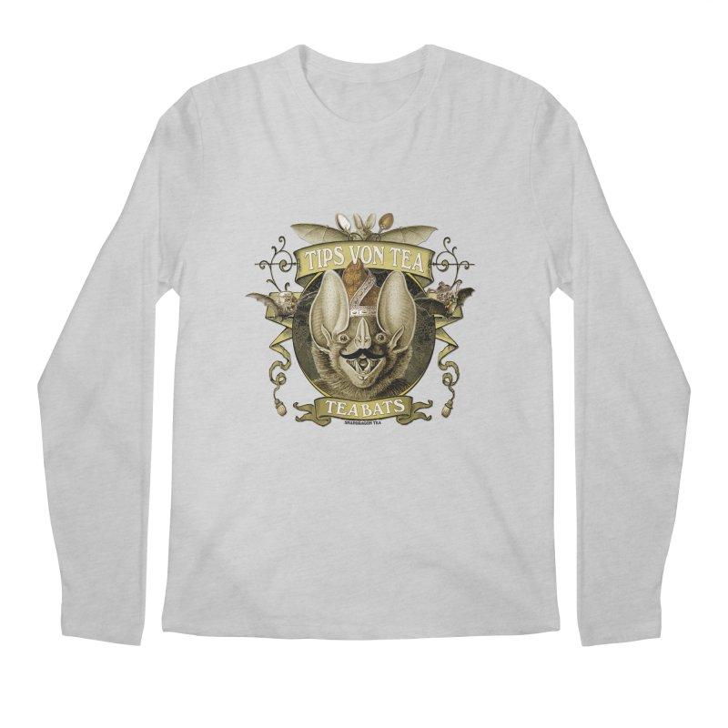 The Tea Bats Tips Von Tea Men's Longsleeve T-Shirt by theatticshoppe's Artist Shop