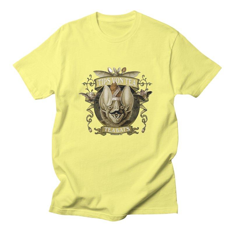 The Tea Bats Tips Von Tea Men's Regular T-Shirt by theatticshoppe's Artist Shop