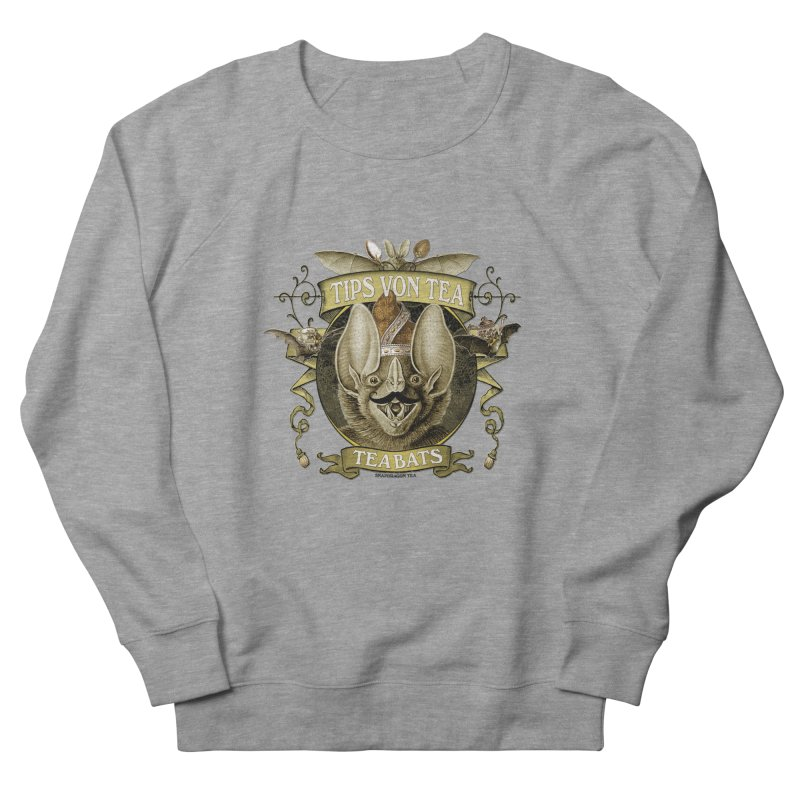 The Tea Bats Tips Von Tea Men's French Terry Sweatshirt by theatticshoppe's Artist Shop
