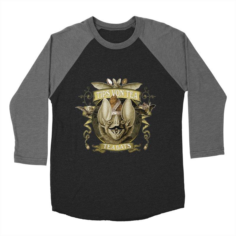 The Tea Bats Tips Von Tea Men's Baseball Triblend Longsleeve T-Shirt by theatticshoppe's Artist Shop