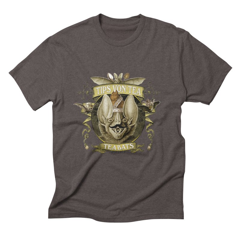 The Tea Bats Tips Von Tea Men's Triblend T-shirt by theatticshoppe's Artist Shop