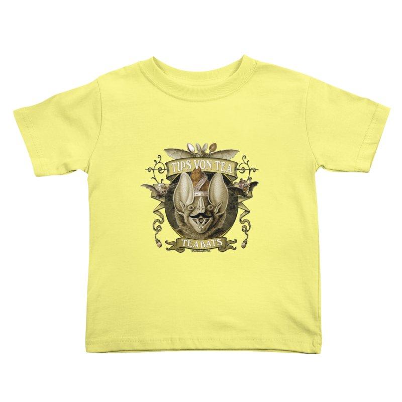 The Tea Bats Tips Von Tea Kids Toddler T-Shirt by theatticshoppe's Artist Shop