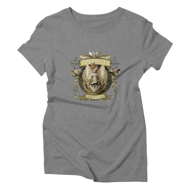 The Tea Bats Tips Von Tea Women's Triblend T-shirt by theatticshoppe's Artist Shop