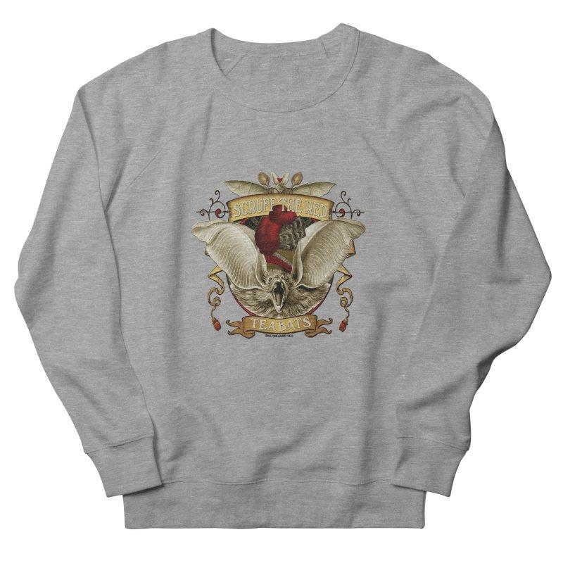 Tea Bats Scruff the Red Women's Sweatshirt by theatticshoppe's Artist Shop