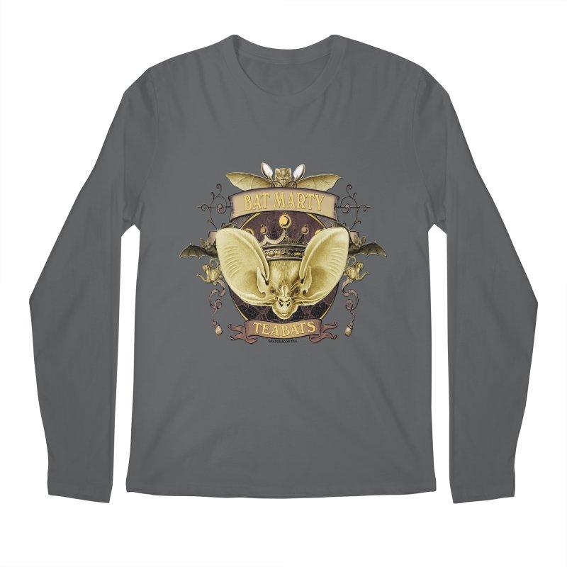 Tea Bats Bat Marty Men's Longsleeve T-Shirt by theatticshoppe's Artist Shop