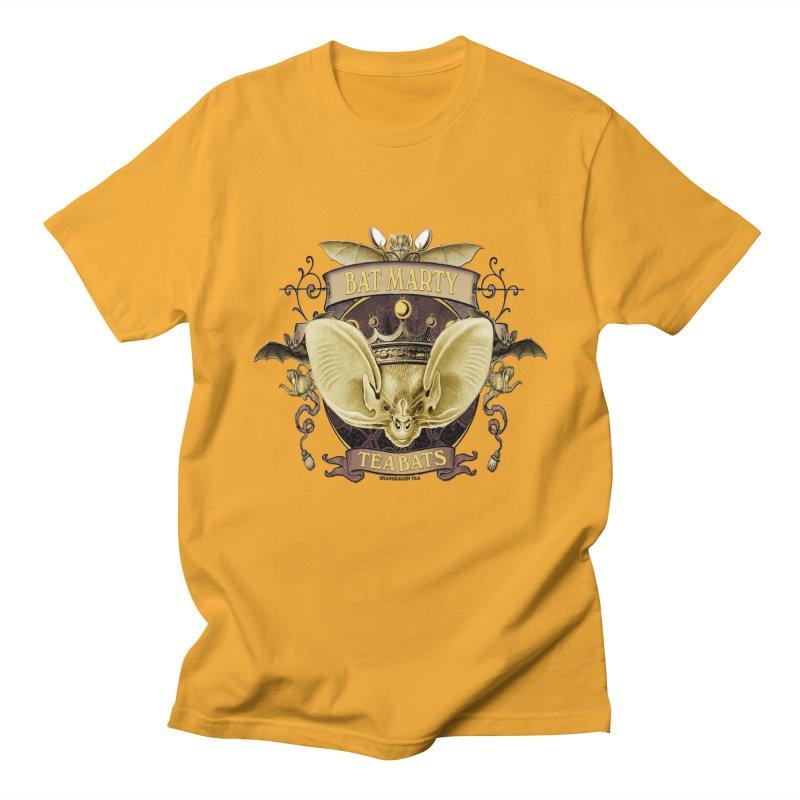 Tea Bats Bat Marty Men's Regular T-Shirt by theatticshoppe's Artist Shop