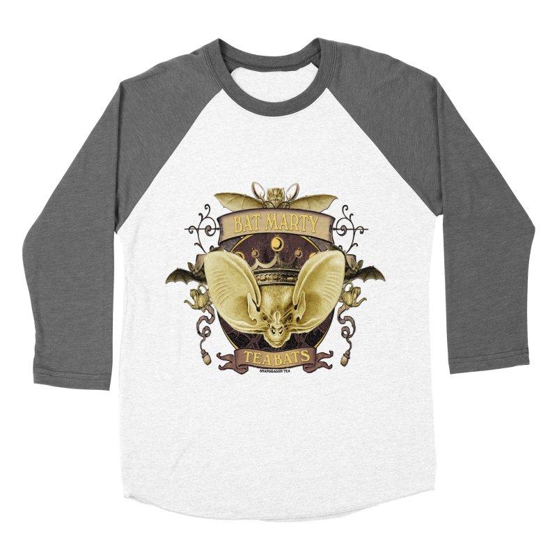 Tea Bats Bat Marty Men's Baseball Triblend Longsleeve T-Shirt by theatticshoppe's Artist Shop