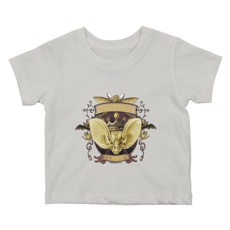 Tea Bats Bat Marty Kids Baby T-Shirt by theatticshoppe's Artist Shop