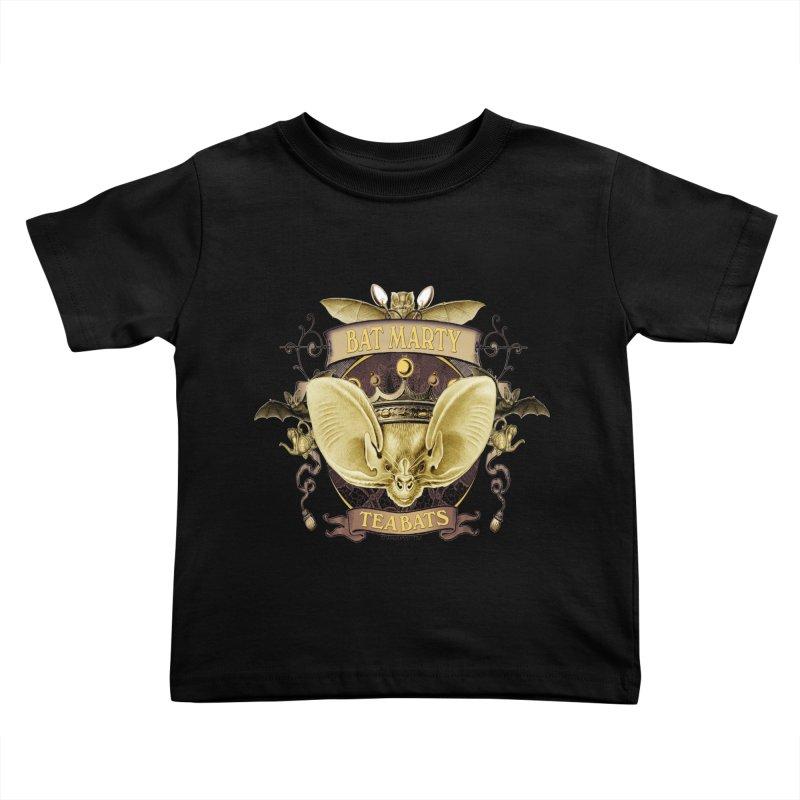 Tea Bats Bat Marty Kids Toddler T-Shirt by theatticshoppe's Artist Shop