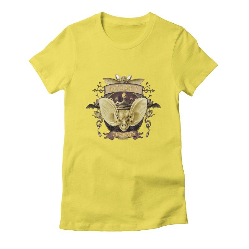 Tea Bats Bat Marty Women's T-Shirt by theatticshoppe's Artist Shop