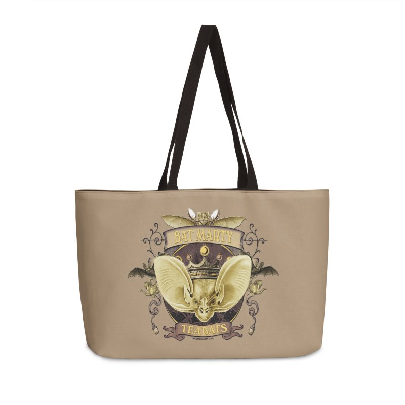 Tea Bats Bat Marty Accessories Bag by theatticshoppe's Artist Shop