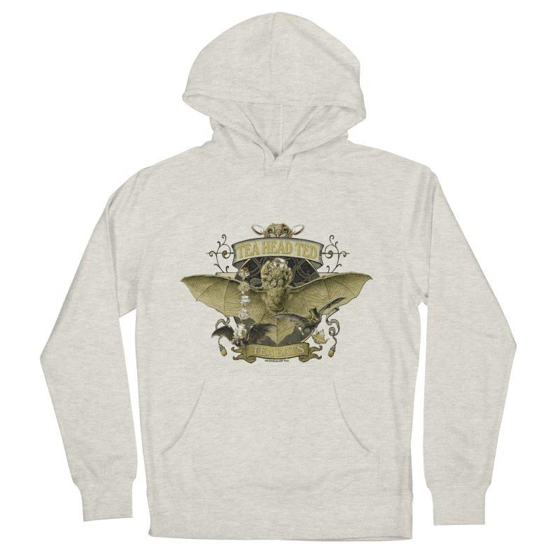 Tea Bats Tea Head Ted Men's Pullover Hoody by theatticshoppe's Artist Shop