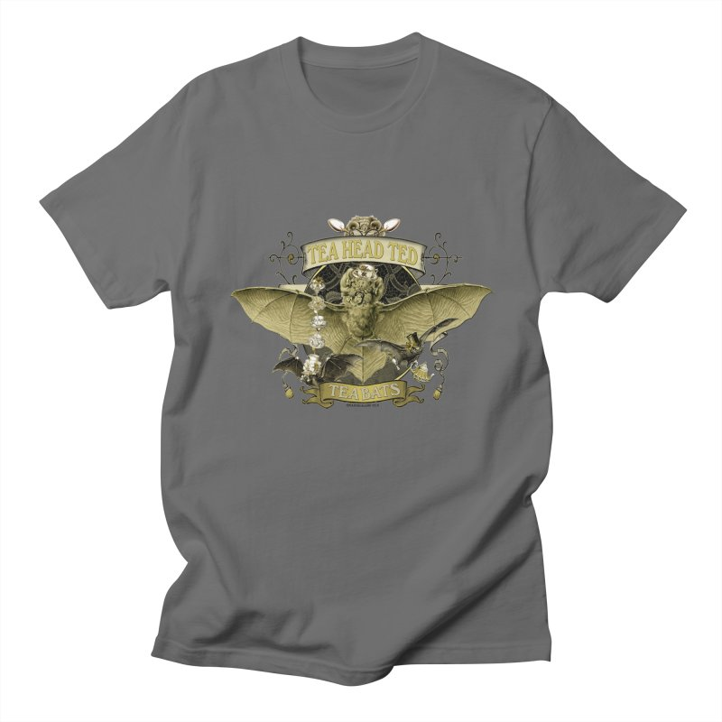 Tea Bats Tea Head Ted Men's T-Shirt by theatticshoppe's Artist Shop