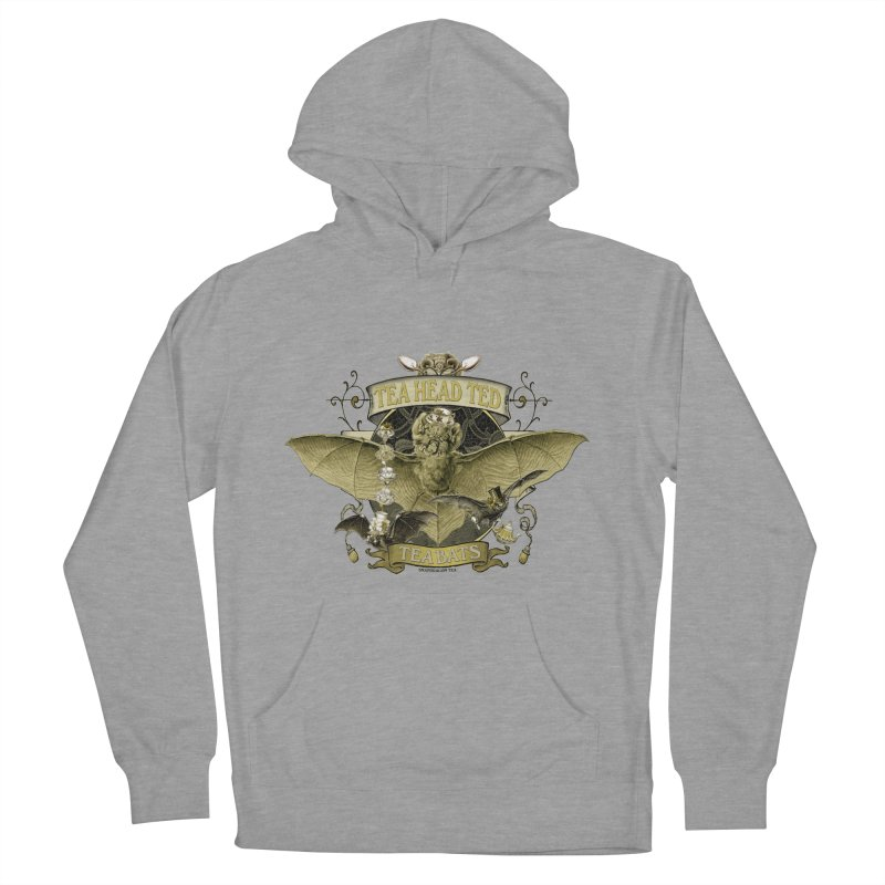 Tea Bats Tea Head Ted Women's Pullover Hoody by theatticshoppe's Artist Shop