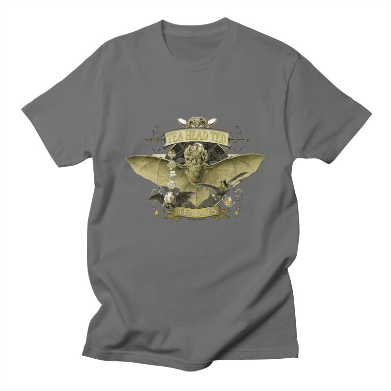 Tea Bats Tea Head Ted Women's Unisex T-Shirt by theatticshoppe's Artist Shop