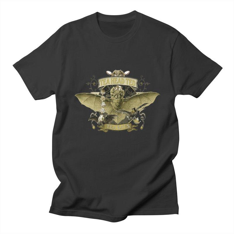 Tea Bats Tea Head Ted Women's Unisex T-Shirt by theatticshoppe's Artist Shop