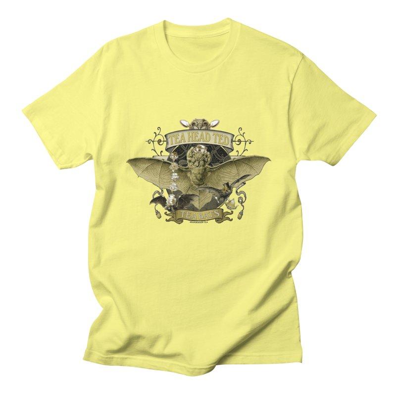 Tea Bats Tea Head Ted Men's T-Shirt by theatticshoppe's Artist Shop