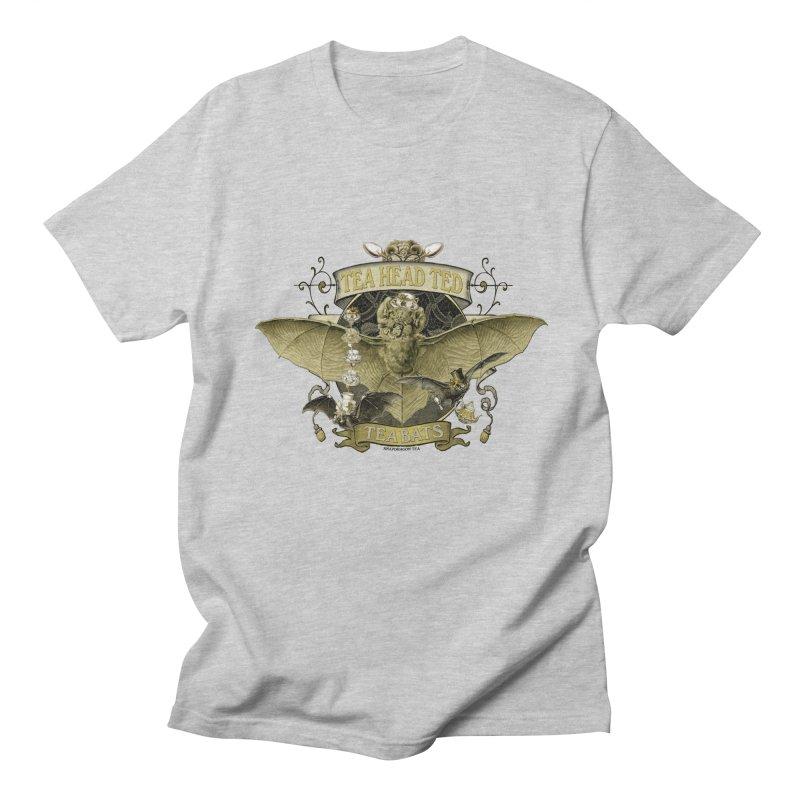 Tea Bats Tea Head Ted Men's Regular T-Shirt by theatticshoppe's Artist Shop