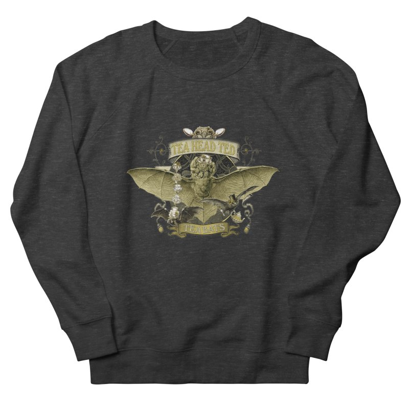 Tea Bats Tea Head Ted Women's Sweatshirt by theatticshoppe's Artist Shop