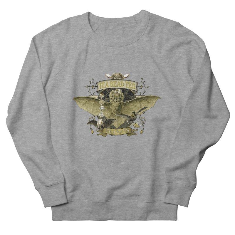 Tea Bats Tea Head Ted Men's Sweatshirt by theatticshoppe's Artist Shop