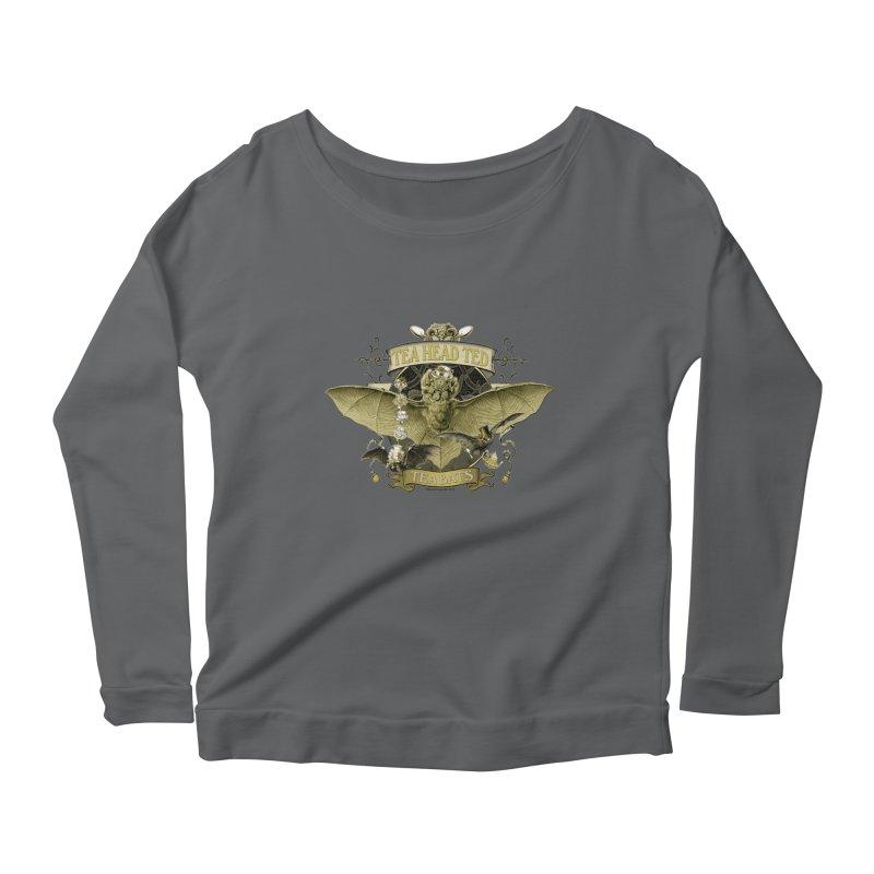 Tea Bats Tea Head Ted Women's Longsleeve T-Shirt by theatticshoppe's Artist Shop