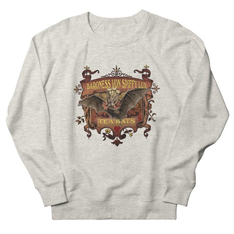 Tea Bats Baroness Von Spiffy Lux Men's Sweatshirt by theatticshoppe's Artist Shop