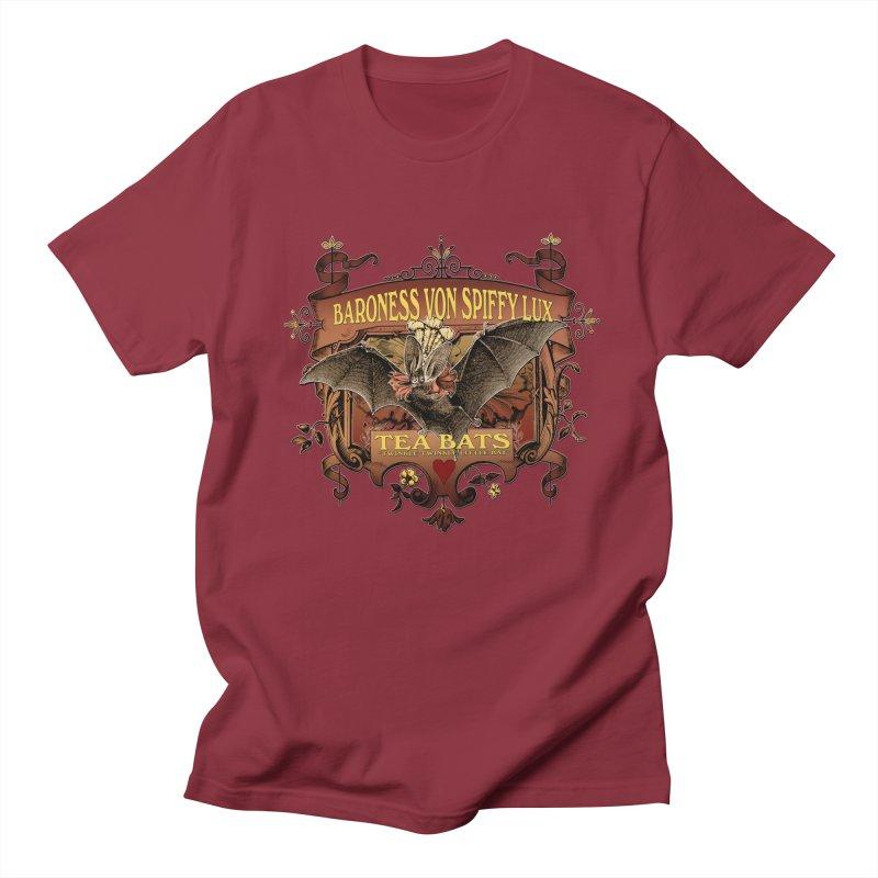 Tea Bats Baroness Von Spiffy Lux Women's Unisex T-Shirt by theatticshoppe's Artist Shop