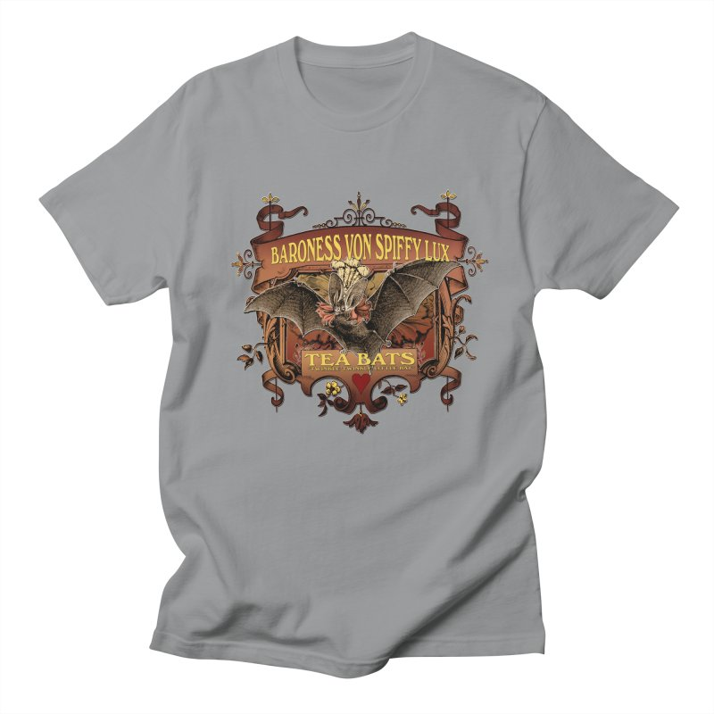 Tea Bats Baroness Von Spiffy Lux Women's Unisex T-Shirt by theatticshoppe's Artist Shop