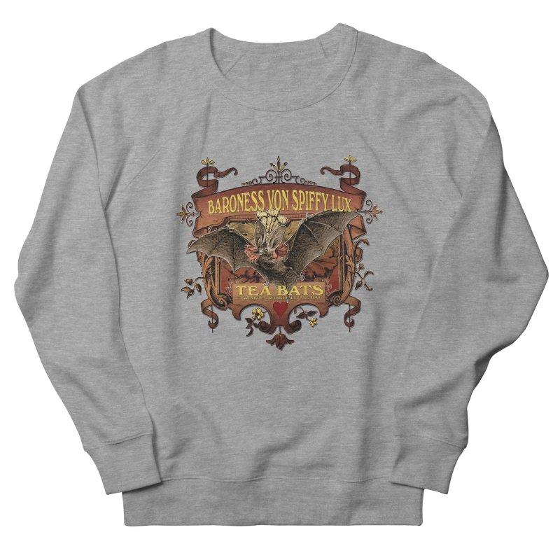 Tea Bats Baroness Von Spiffy Lux Women's French Terry Sweatshirt by theatticshoppe's Artist Shop
