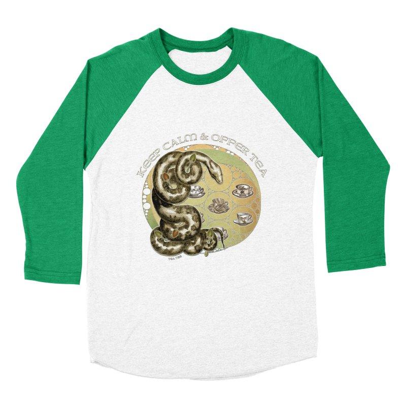 Tea Tee - Keep Calm & Offer Tea Men's Longsleeve T-Shirt by theatticshoppe's Artist Shop