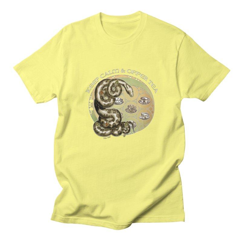 Tea Tee - Keep Calm & Offer Tea Women's Unisex T-Shirt by theatticshoppe's Artist Shop